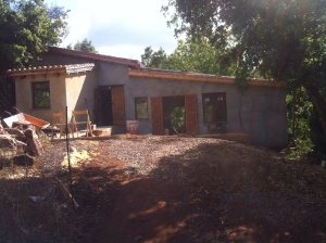 The house at Navasola: June 2014