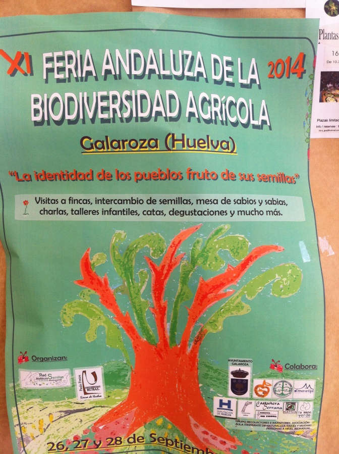 Feed the World with small scale farming: Cultivando Biodiversidad: Red Andaluza de Semillas: Seed biodiversity .