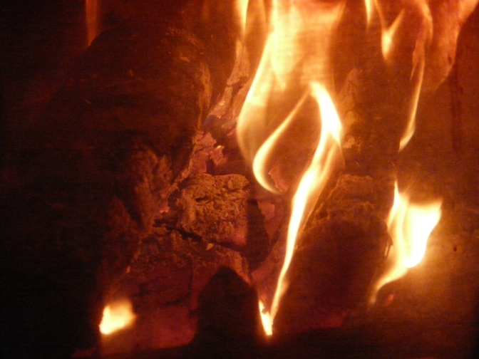 Wood, wood, burning bright. The poetry of kindling the right flame with the right wood.