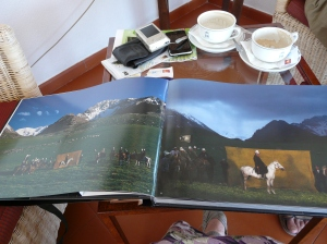 Coffee and coffee table books