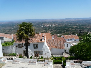 Rooftops and views, Marvao, Alentejo, Portugal