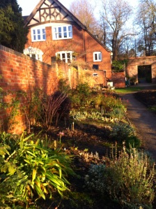 Holland House from walled garden, Woodbrooke