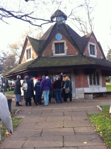 Tourist information Centre and shop for Carilion visits in Bournville Village