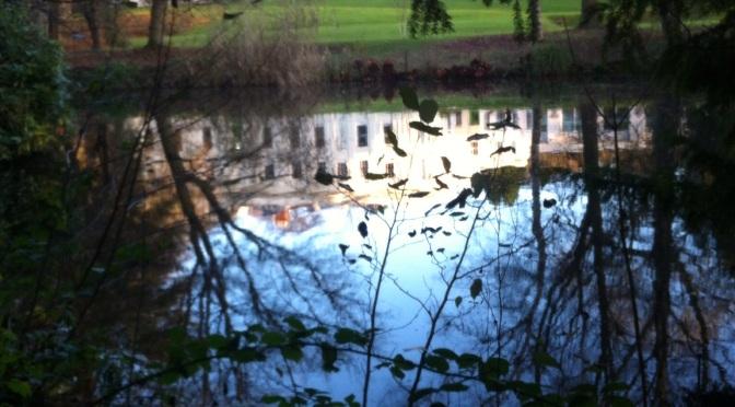 My Walk for the Climate Talks in Paris. Woodbrooke Quaker Centre. Bournville, Birmingham.