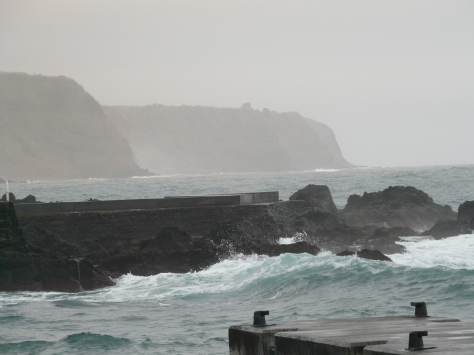 bl not whale watching but wave watching weather Azores 393