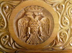2 headed eagle symbol of Eastern Orthodox Church