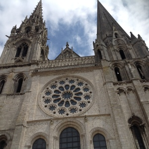 West face of Chartres Cathedral