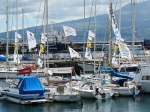 Sailing mid Atlantic; Horta is the place to stop